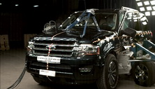 NCAP 2015 Ford Expedition side crash test photo
