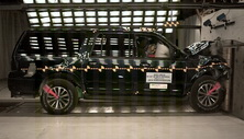 2015 Ford Expedition SUV 4x4 after frontal crash test