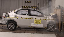 NCAP 2015 Toyota Corolla front crash test photo