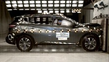 NCAP 2015 Nissan Murano front crash test photo