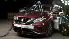 NCAP 2015 Nissan Murano side crash test photo