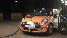 NCAP 2015 Mini Cooper side crash test photo