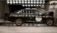 NCAP 2016 Cadillac XTS front crash test photo
