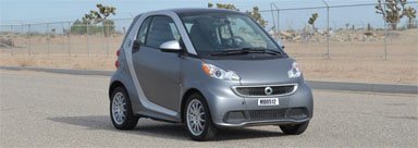 The National Highway And Safety Administration Has Given 2016 451 Smart Fortwo Electric Drive Four Stars In Front Crash Test Five