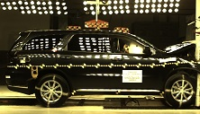 NCAP 2016 Dodge Durango front crash test photo