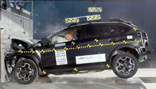 NCAP 2016 Subaru Crosstrek Hybrid front crash test photo