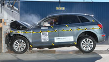 NCAP 2016 Audi Q5 front crash test photo