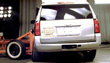 NCAP 2016 Chevrolet Tahoe side crash test photo