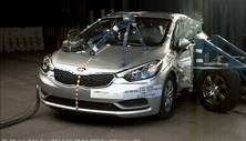 NCAP 2016 Kia Forte side crash test photo