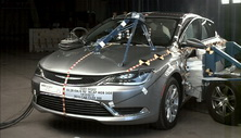 NCAP 2016 Chrysler 200 side crash test photo