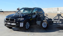NCAP 2016 BMW X5 side crash test photo