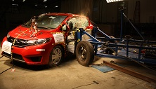 NCAP 2016 Honda Fit side crash test photo