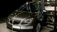 NCAP 2016 Buick Encore side pole crash test photo
