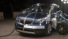 NCAP 2016 Buick Encore side crash test photo