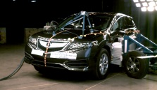 NCAP 2016 Acura RDX side crash test photo