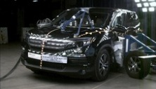 NCAP 2016 Honda Pilot side crash test photo