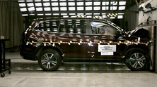 NCAP 2016 Honda Pilot front crash test photo