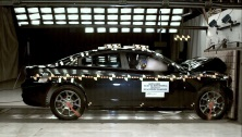2016 Dodge Charger 4 DR AWD after frontal crash test