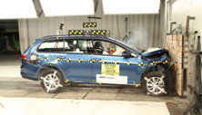NCAP 2016 Volkswagen Golf front crash test photo