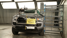 NCAP 2016 Toyota Tacoma side pole crash test photo