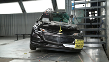 NCAP 2016 Chevrolet Cruze side pole crash test photo