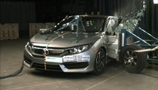 NCAP 2016 Honda Civic side crash test photo