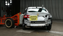 NCAP 2016 Chevrolet Cruze side crash test photo