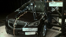 NCAP 2016 Buick Envision side pole crash test photo