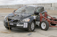 NCAP 2017 Volvo XC60 side crash test photo