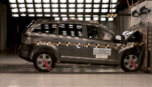 NCAP 2017 Dodge Journey front crash test photo
