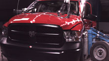 NCAP 2017 Ram 1500 side crash test photo