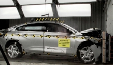 NCAP 2017 Chevrolet Impala front crash test photo