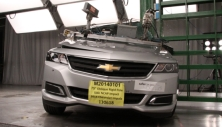 NCAP 2017 Chevrolet Impala side pole crash test photo
