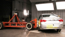 NCAP 2017 Chevrolet Impala side crash test photo