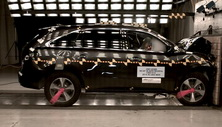 NCAP 2017 Acura MDX front crash test photo