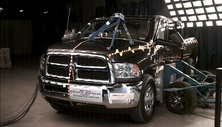 NCAP 2017 Ram 2500 side crash test photo