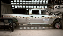 NCAP 2017 Ram 2500 front crash test photo