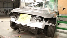 NCAP 2017 Mazda MAZDA6 side pole crash test photo