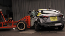 NCAP 2017 Mazda MAZDA3 side crash test photo