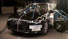 NCAP 2017 Audi A6 side crash test photo