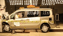 NCAP 2017 Ford Transit Connect front crash test photo