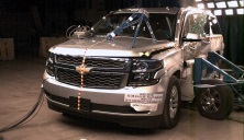 NCAP 2017 Chevrolet Suburban side crash test photo