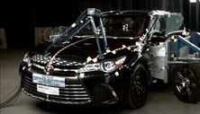 NCAP 2017 Toyota Camry side crash test photo