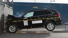 2017 BMW X5 SUV AWD after frontal crash test