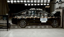 NCAP 2017 Acura TLX front crash test photo