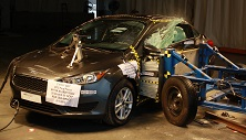 NCAP 2017 Ford Focus side crash test photo