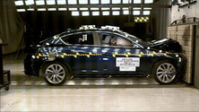 NCAP 2017 Acura ILX front crash test photo