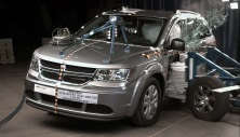 NCAP 2017 Dodge Journey side crash test photo
