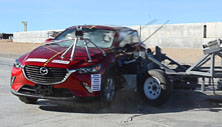 NCAP 2017 Mazda CX-3 side crash test photo