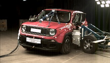 NCAP 2017 Jeep Renegade side crash test photo
